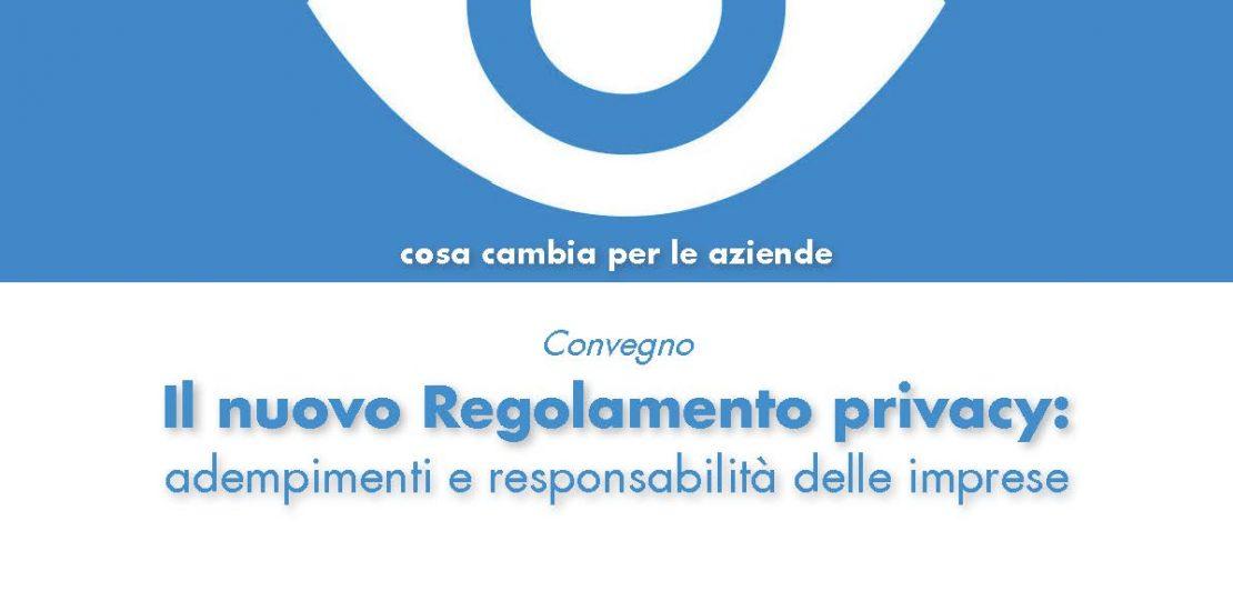 Convegno Unindustria Rieti Nuovo regolamento Europeo Privacy Protection Trade